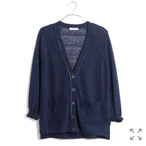 Madewell Sandstitch Cardigan